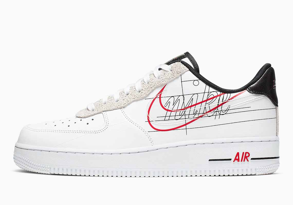 Nike Air Force 1 Low Script Swoosh Men's and Women's Shoes