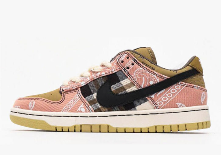 Travis Scott x Nike SB Dunk Low Jackboys Men's and Women's Shoes