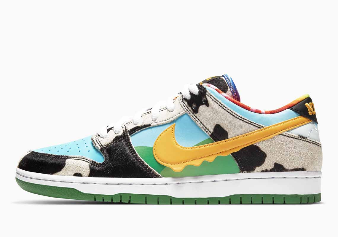 Ben & Jerry's Nike SB Dunk Low Chunky Dunky Men's and Women's Shoes